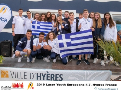 Laser 4.7 Youth European Championship , 18-25/5/2019, Hyers -France