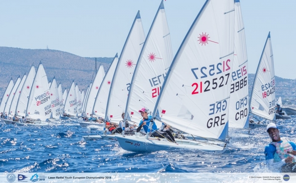 Laser Radial Youth European Championship 2019 ,29 June – 6 July 2019, Nautical Club of Kalamaki