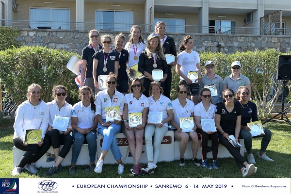 2019  Men's 470 Open European Championship -2019 Women's 470 Open European Championship